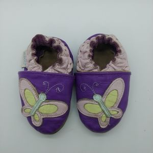 Robeez Leather Slippers 0-6m